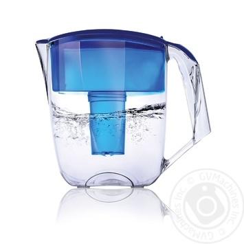Фільтр-кувшин Наша Вода Максима синій 5л - купити, ціни на МегаМаркет - фото 1