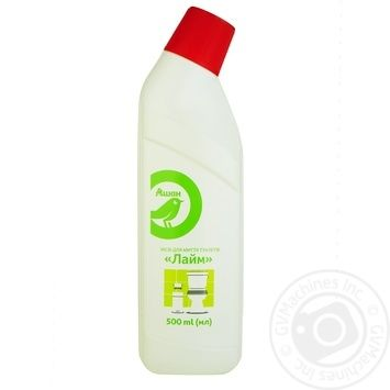 Auchan Lime toilet cleaner 500ml - buy, prices for Auchan - photo 1