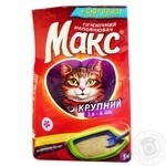 Max Large Hygienic Cat Litter 5kg - buy, prices for Novus - image 1