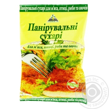 Панировочные сухари Cykoria 200г - купить, цены на МегаМаркет - фото 1