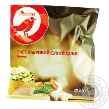 Auchan Bay Leaf 20g - buy, prices for Auchan - photo 1