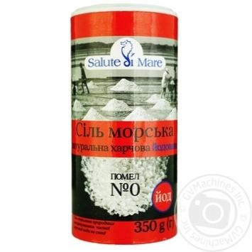 Salute di mare iodized sea salt 350g - buy, prices for Metro - image 1
