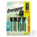 Батарейка Energizer Max AA 4шт