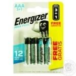 Батарейка Energizer Max AAA 4шт
