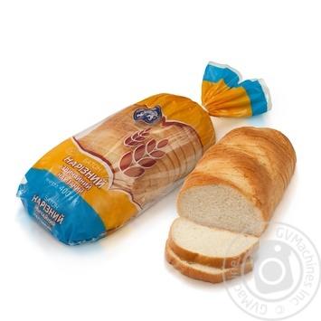 Батон Кулиничи Обычный пшеничный нарезанный 400г - купить, цены на Таврия В - фото 1
