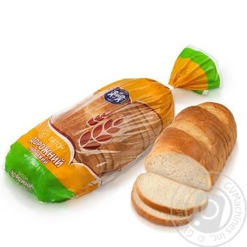 Батон Кулиничі Дорожній пшеничний вищого гатунку 500г - buy, prices for Auchan - photo 1