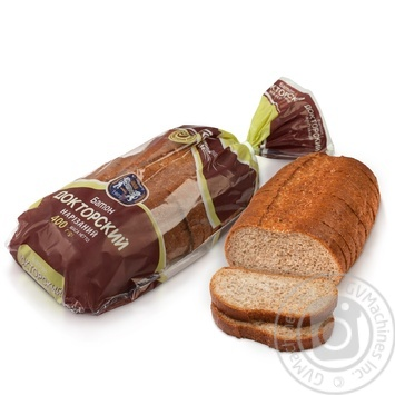 Kulynychi Doctor Sliced Bread with bran 400g