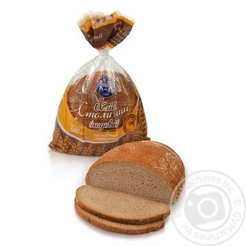 Хлеб Кулиничи Столичный подовый половинка нарезанный 500г - купить, цены на Восторг - фото 1