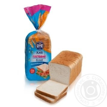 Kulinichi European Bread toast white 330g - buy, prices for MegaMarket - image 1