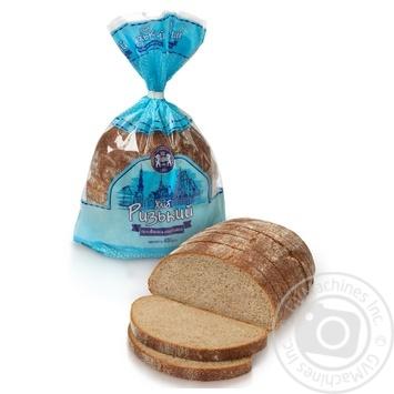 Хліб Кулиничі Ризький половинка нарізаний 400г - купити, ціни на Фуршет - фото 1