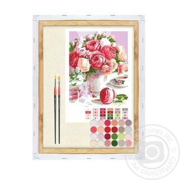 Картина по номерам Rosa Start Душистый букет 35*45см - купить, цены на Ашан - фото 1