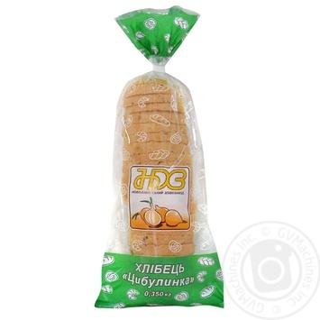 Хлібець НБХЗ Цибулинка пшеничний 350г - купить, цены на Ашан - фото 1