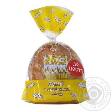 Хліб НБХЗ з висівками 200г - купить, цены на Ашан - фото 1