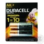 Батарейка Duracell AA 2шт