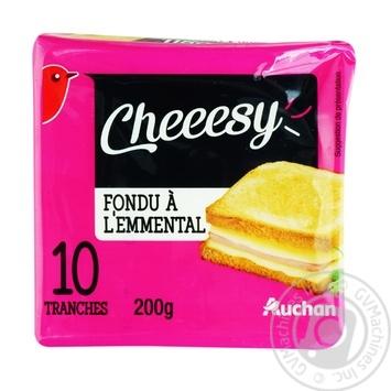 Auchan Emmental cheese plates 200g