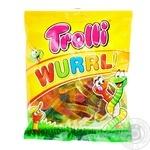 Конфеты Trolli Wurrli фруктовые жевательные 100г