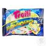 Цукерки Trolli Кислі світлячки фруктові жувальні 50г