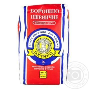 Мука Богумила пшеничная высший сорт 2кг - купить, цены на Метро - фото 1