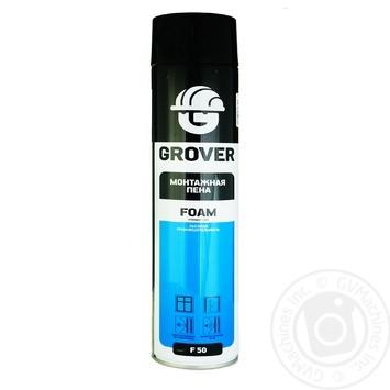 Пена Grover F50 монтажная 750мл