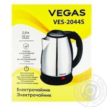 Vegas VES-2044S Electric kettle - buy, prices for Auchan - image 1