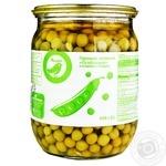 Auchan Special Green Peas 510g