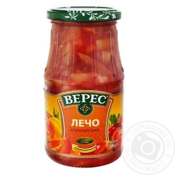 Лечо Верес Болгарське в томатному соусі 530г