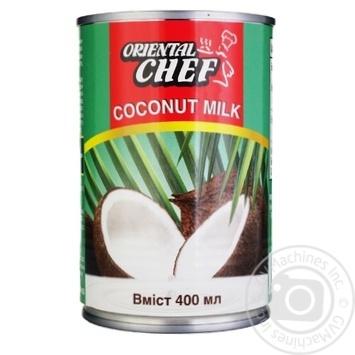 Молоко кокосовое Oriental Chef 15% 400мл