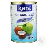 Кокосове молоко Kara Classic 17% 425мл - купити, ціни на Ашан - фото 1