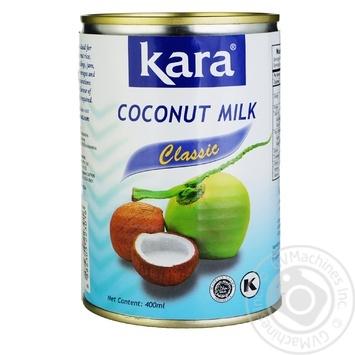 Кокосовое молоко Kara Classic 17% 425мл - купить, цены на Novus - фото 1