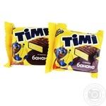 Конфеты Konti Тими со вкусом банана весовые