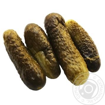 Огурцы Чудова марка соленые весовые - купить, цены на Ашан - фото 1