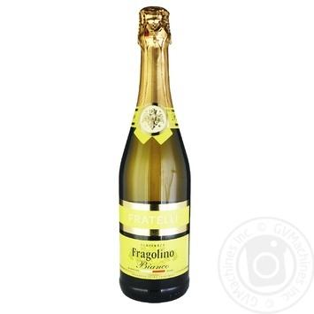 Fratelli Fragolino Bianco Sparkling wine white semisweet 6-6,9% 0,75l