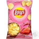 Lay's potato chips with crab flavor 133g - buy, prices for Furshet - image 1