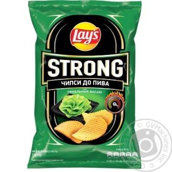 Чипсы Lay's Strong к пиву со вкусом васаби 120г - купить, цены на МегаМаркет - фото 2