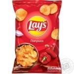 Чипсы Lay's со вкусом паприки 133г - купить, цены на Ашан - фото 1