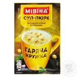Mivina Garyacha kruzhka ready-to-cook with croutons soup 12g - buy, prices for MegaMarket - image 1
