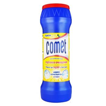 Порошок Comet Лимон Подвійний ефект для чищення універсальний 475г - купити, ціни на CітіМаркет - фото 3
