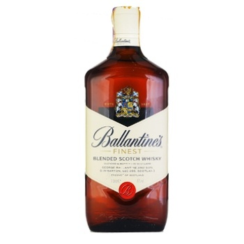 Ballantine's Finest Blended Scotch Wiskey 40% 1l - buy, prices for Novus - image 1