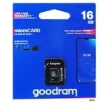 Карта памяти Goodram 16GB microSDHC Class 10