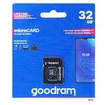 Карта памяти Goodram 32GB microSDHC Class 10