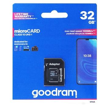 SS_КП GOODRAM MICROSDHC 32GB - купити, ціни на Ашан - фото 1