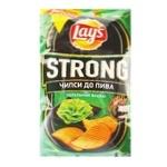 Чипсы Lay's Strong к пиву со вкусом васаби 120г - купить, цены на МегаМаркет - фото 1
