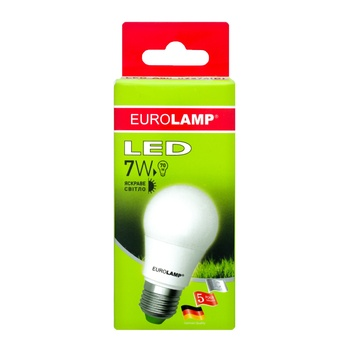 Eurolamp LED Lamp E27 7W 4000K - buy, prices for Furshet - image 1