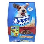 Корм Chappi говядина птица и овощи для собак 2,7кг