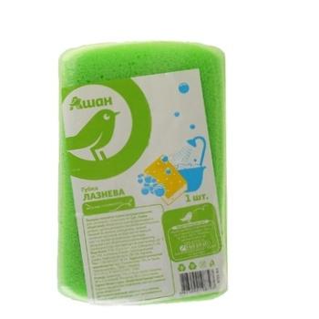 Губка Ашан банная - купить, цены на Ашан - фото 2