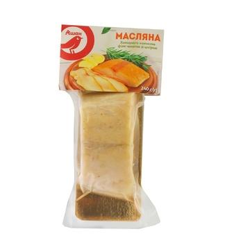 Эсколар Ашан филе-кусок с кожей холодного копчения 240г - купить, цены на Ашан - фото 2