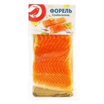 Auchan Fillet Slightly Salted Trout - buy, prices for Auchan - photo 1