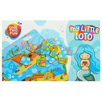 Игра One Two Fun лото в ассортименте - купить, цены на Ашан - фото 1