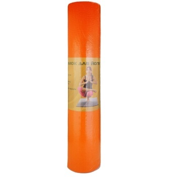 Yoga mat 61X12X12 cm - buy, prices for Auchan - image 1
