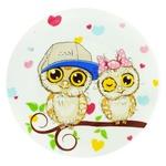 Milika Owl Porcelain Dessert Plate 17,5cm